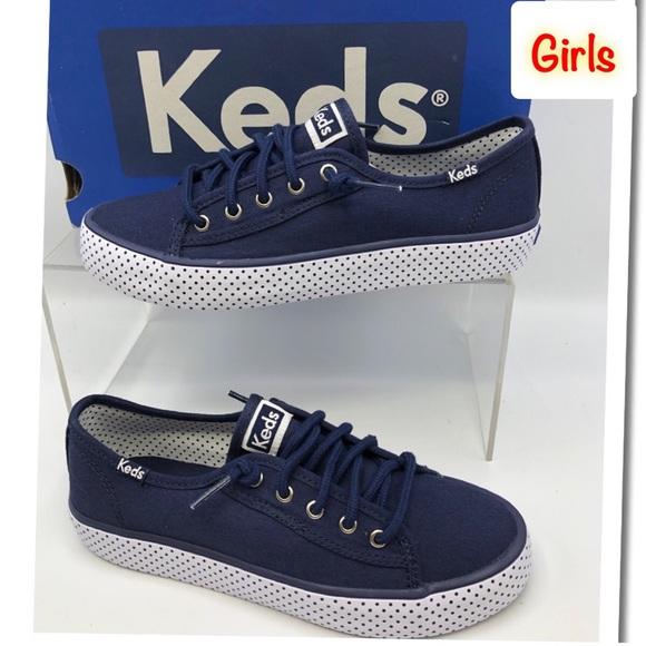 Girl Navy Blue Sneakers   Poshmark